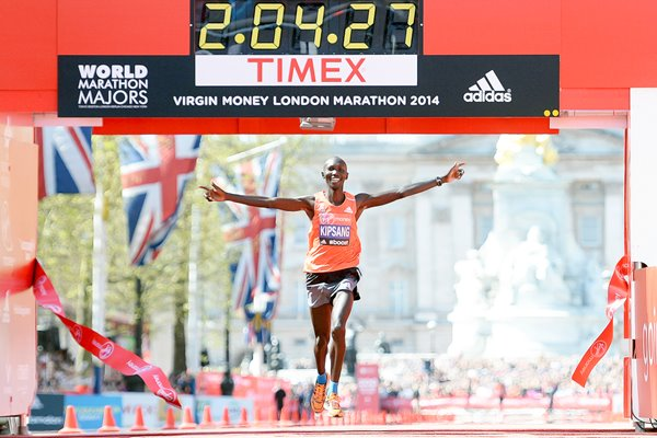 Wilson Kipsang London Marathon 2014