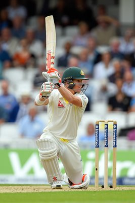 David Warner Australia v England Oval 2015