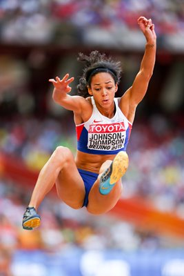Katarina Johnson-Thompson Heptathlon Beijing 2015