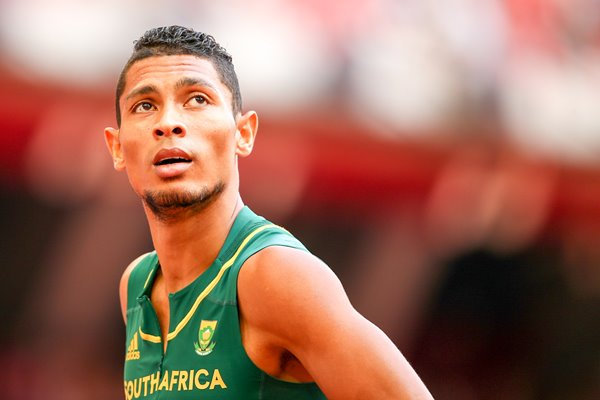 Wayde Van Niekerk World Athletics Championships Beijing 2015