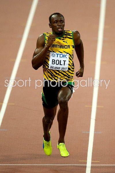 World Championships 2015 Photo Athletics Posters Usain