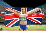 Jessica Ennis-Hill Heptathlon Champion Beijing 2015 Mounts