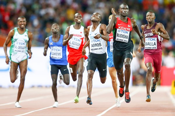 David Lekuta Rudisha Kenya World Athletics Championships 2015