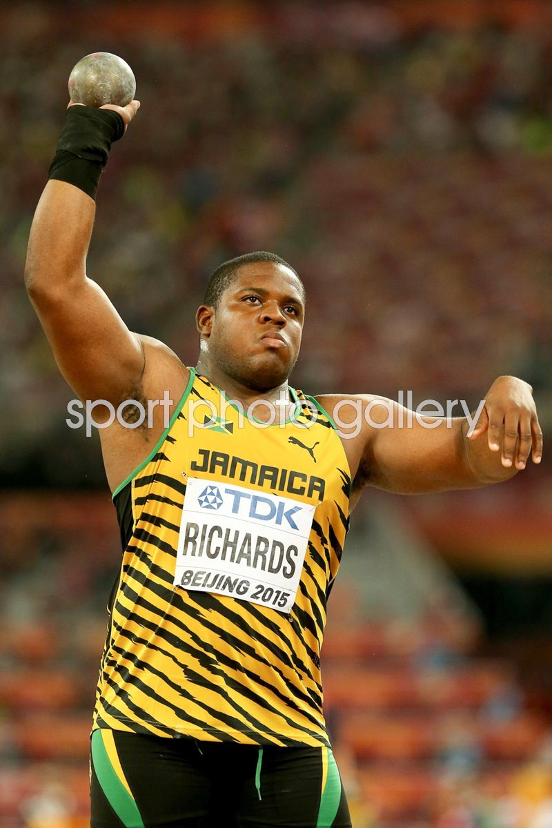 O'Dayne Richards Shot Put Beijing 2015