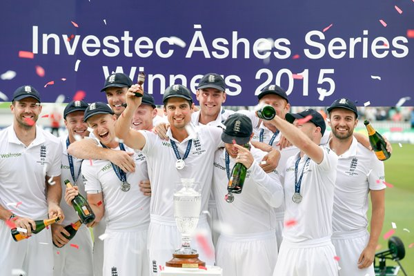 2015 England Ashes Winners