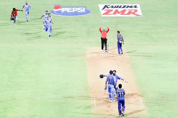India World Cup Victory Moment