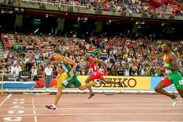 Wayde Van Niekerk 400m Gold World Athletics Championships 2015