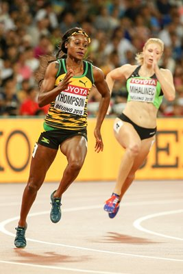 Elaine Thompson 200m World Athletics Championships 2015