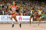 Allyson Felix 400m Champion Beijing  2015 Mounts