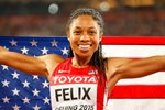 Allyson Felix IAAF World Athletics Championships Beijing 2015 Prints
