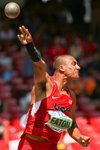 Ashton Eaton USA Decathlon Shot Put Beijing 2015 Prints