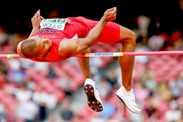 Ashton Eaton USA Decathlon High Jump Beijing 2015