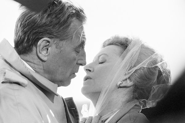 Robert Mitchum and Deborah Kerr Reunion At Fairborough 1984