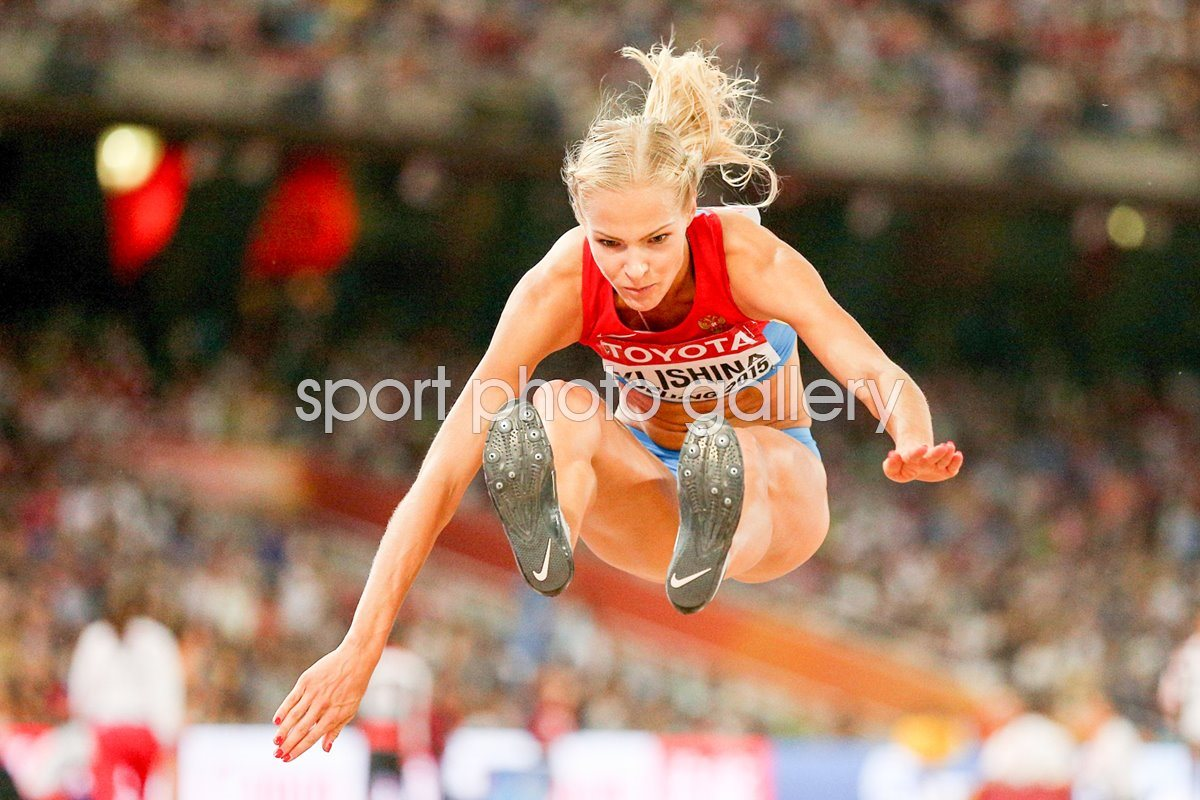 Darya Klishina Russia World Athletics Beijing 2015