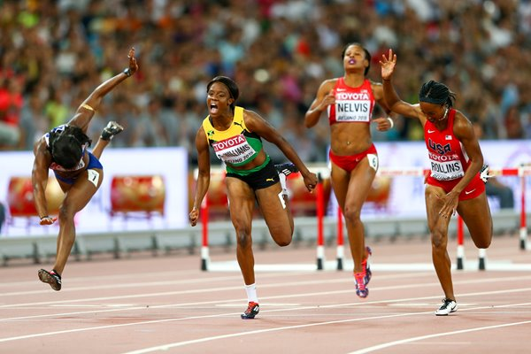 Danielle Williams 100m Hurdles World Athletics Beijing 2015