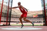 Ashton Eaton USA Decathlon Discus Beijing 2015 Prints