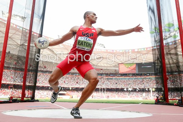 Ashton Eaton Decathlon World Athletics Championships 2015