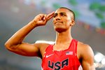 Ashton Eaton USA World Decathlon Champion 2015 Prints