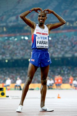 Mo Farah Gold 5000m Gold World Athletics 2015