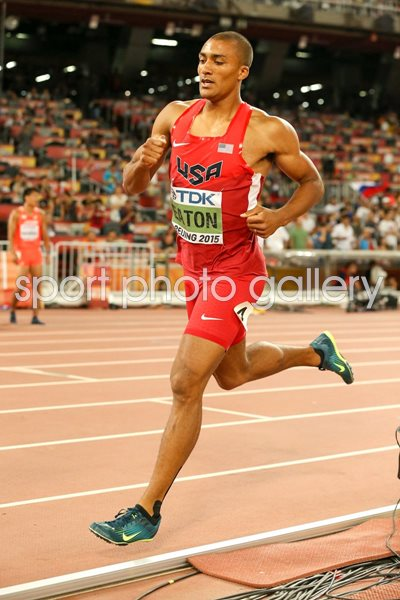 Ashton Eaton USA Decathlon 1500m Beijing 2015