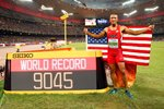 Ashton Eaton World Decathlon Record & World Champion 2015  Prints