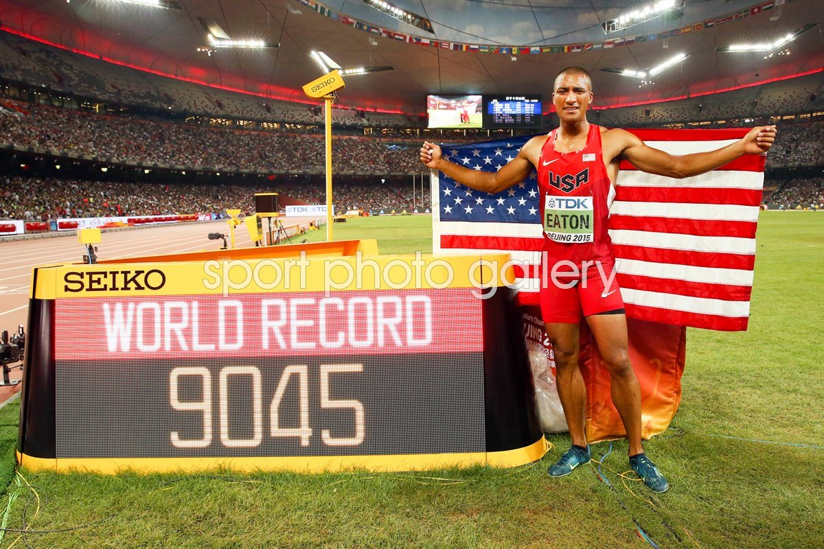 Ashton Eaton World Decathlon Record & World Champion 2015