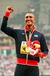 Ashton Eaton World Decathlon Champion Beijing 2013  Prints