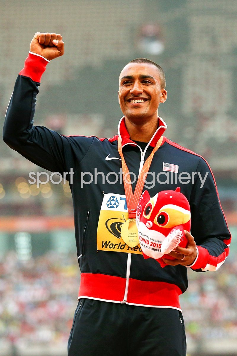 Ashton Eaton World Decathlon Champion Beijing 2013
