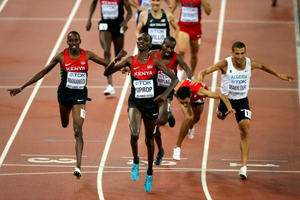 Asbel Kiprop Kenya 1500m Gold World Athletics 2015