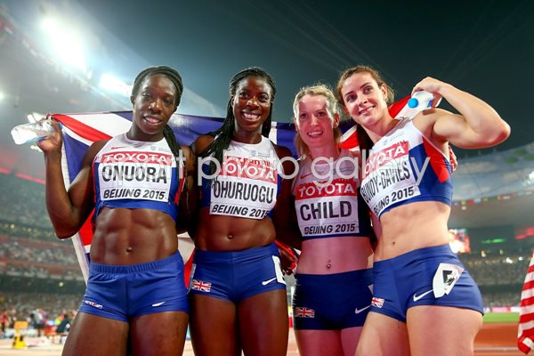 Great Britain 4x400m World Bronze Beijing 2015