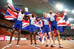 Great Britain 4x400m World Bronze Beijing 2015 Prints