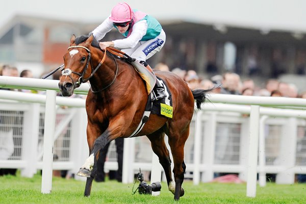 Frankel & Tom Queally Newbury 2011