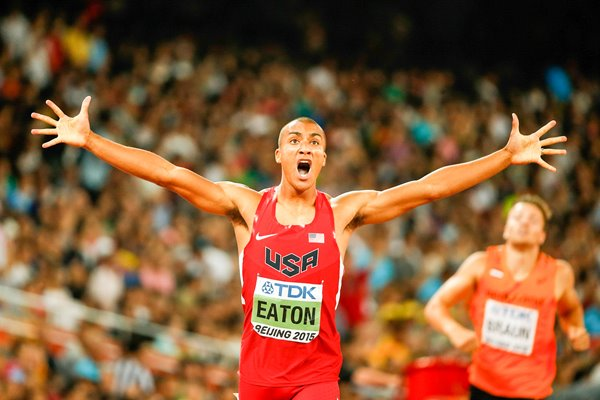 Ashton Eaton Decathlon Gold World Athletics Championships 2015