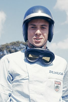 Jim Clark portrait 1962