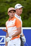 Rickie Fowler Henrik Stenson Deutsche Bank 2015 Mounts