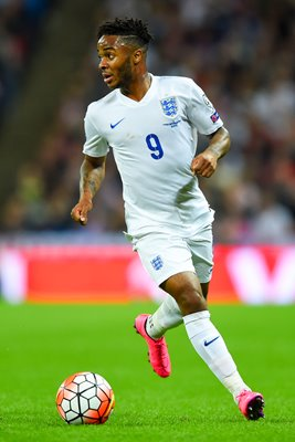 Raheem Sterling England v Switzerland Wembley 2015