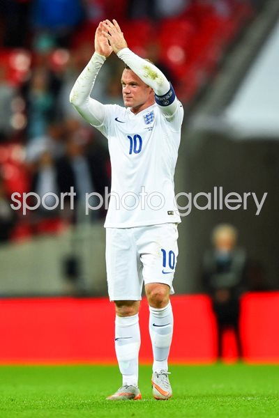 Wayne Rooney England Goal Scoring Record Holder
