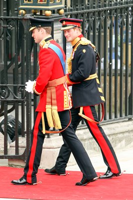 Royal Wedding Photos - Princes William & Harry