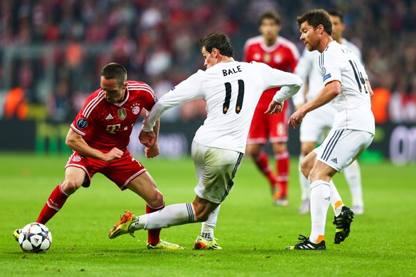 Franck Ribery Champions League Semi Final 2014