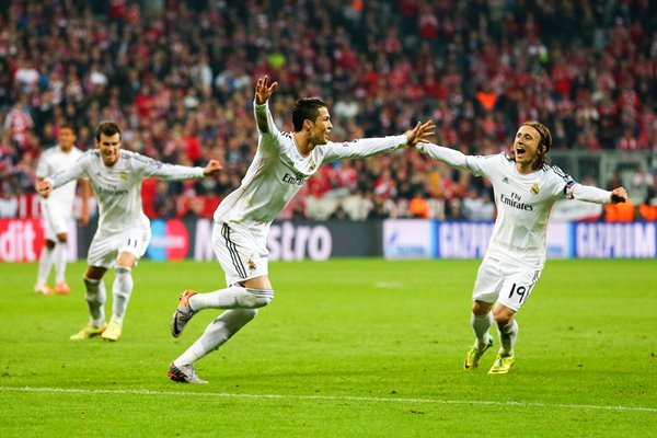 Cristiano Ronaldo Celebration Champions League 2014