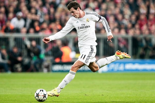 Gareth Bale Champions League semi final 2014