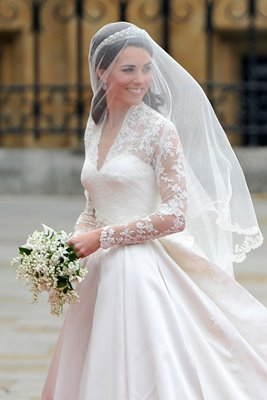 Royal Wedding - Kate Middleton arrives at Westminster Abbey