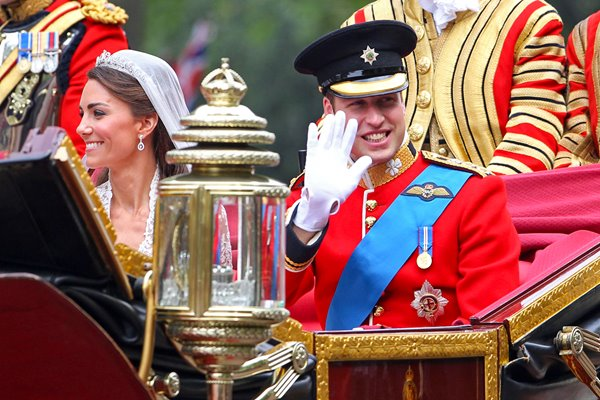 Royal Wedding - Carriage Procession To Buckingham Palace