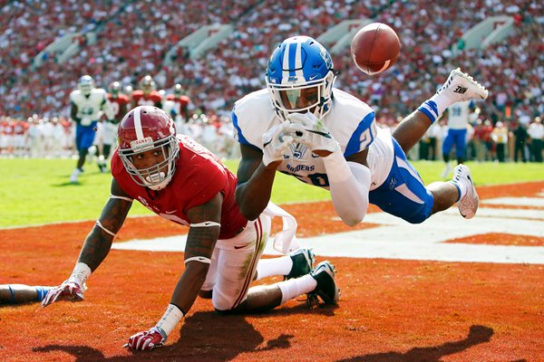 Kevin Byard Middle Tennessee v Alabama
