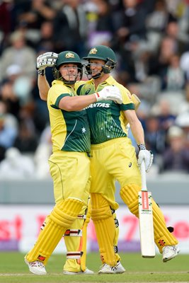 Aaron Finch & George Bailey Australia ODI Old Trafford 2015