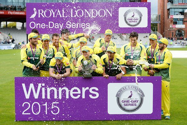 AustraliaRoyal London One-Day Series Winners 2015