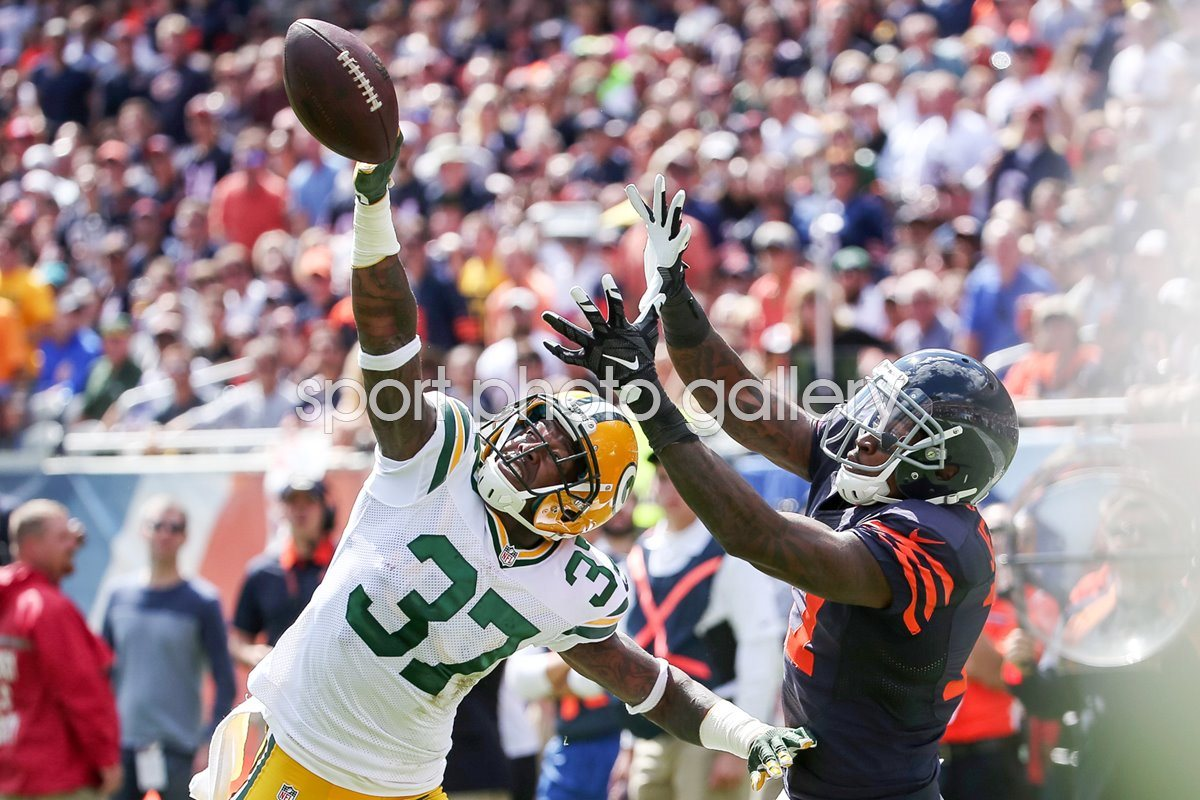 Sam Shields Green Bay Packers v Alshon Jeffery Chicago Bear