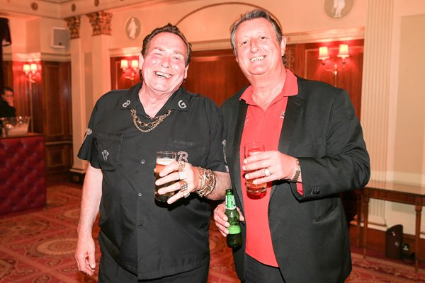 Bobby George & Eric Bristow London 2014