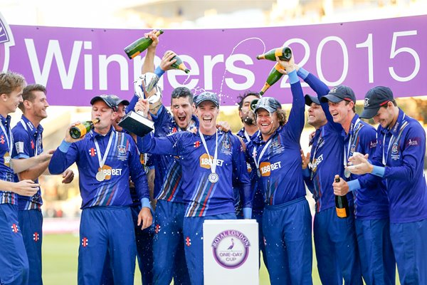 Gloucstershire 2015 Royal London Cup Winners Lords