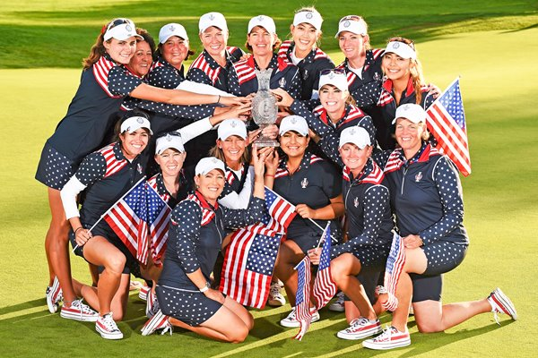 2015 USA Solheim Cup Winners St Leon-Rot Germany